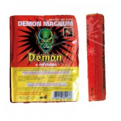 LOT DE 2 PAQUETS DEMON MAGNUM