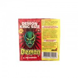 LOT DE 3 PAQUETS DEMON KING...