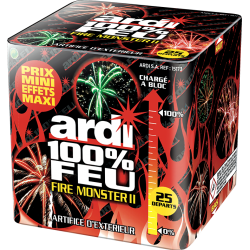 ARDI 100% FEU FIRE MONSTER...