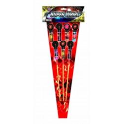 Assortiment de 7 Fusées –...